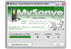 MySonye - Sony Ericsson On-line Drivers.